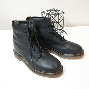 Dr Martens Made In England Vintage Leather Boots